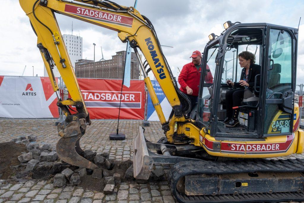 Work has begun at the Oosterweel Junction in Noordkasteel: comple ... (Antwerp)
