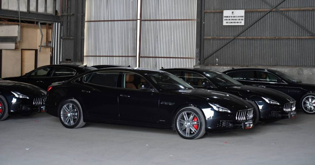 The government of this poor country bought 40 Maseratis and three Bentleys for a one-time bite |  Leader
