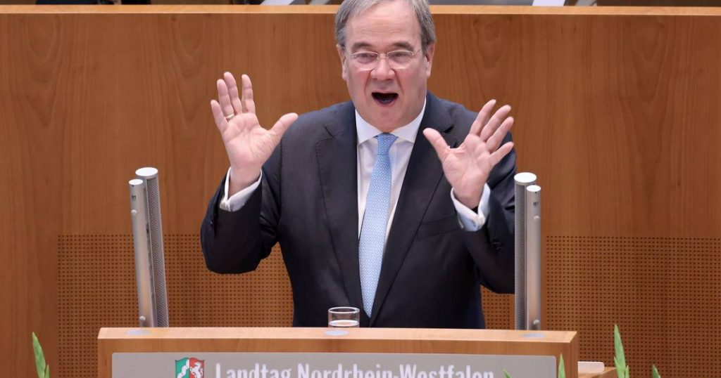 Armin Laschet is ready to step down as CDU chairman    Abroad