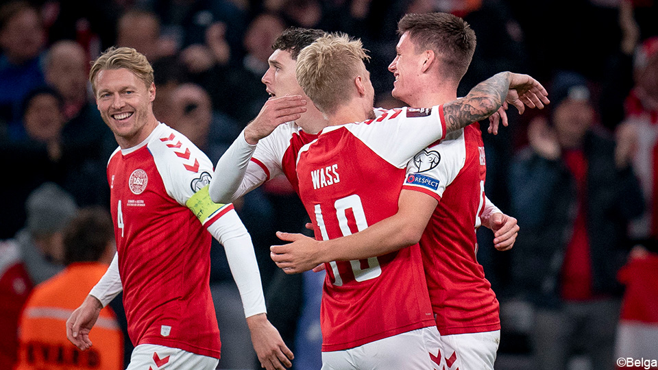 Denmark is already certain to participate in the World Cup with an eighth consecutive victory |  UEFA World Cup 2022 Qualifiers
