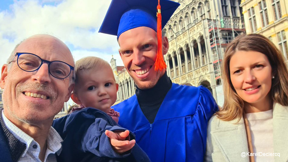 'Eternal Student' Tim DeKlerk Graduates After 14 Years: 'Everybody Knows I'm Not a Runner' |  Special
