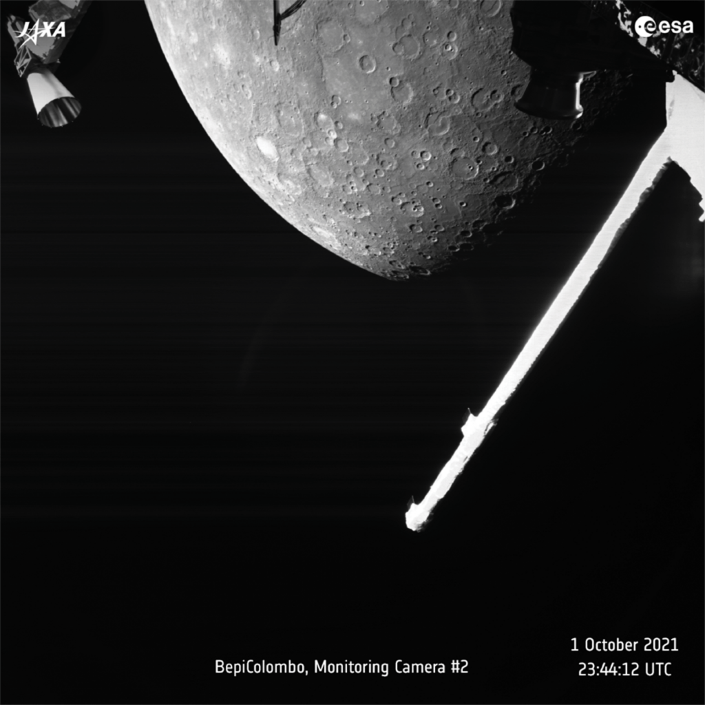 European space probe makes first flyby of Mercury