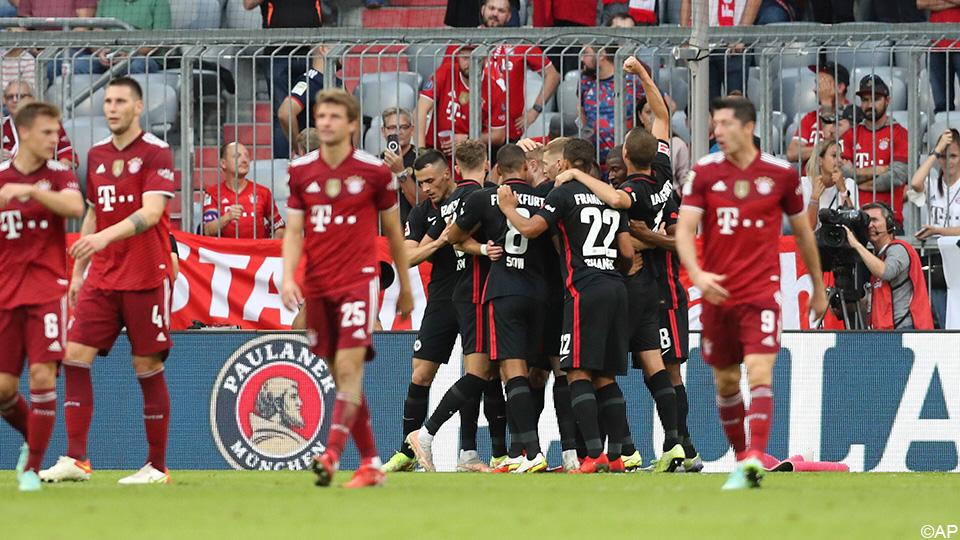 Frankfurt also beats Munich after Antwerp and surprisingly beats Bayern |  German League 2021/2022