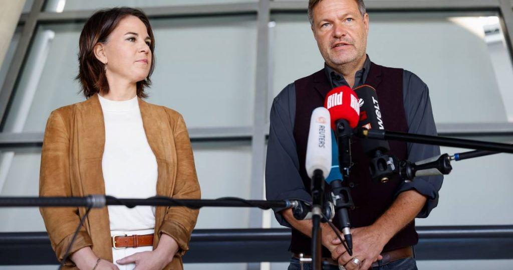 German Green Party wants coalition with SPD and FDP |  Abroad