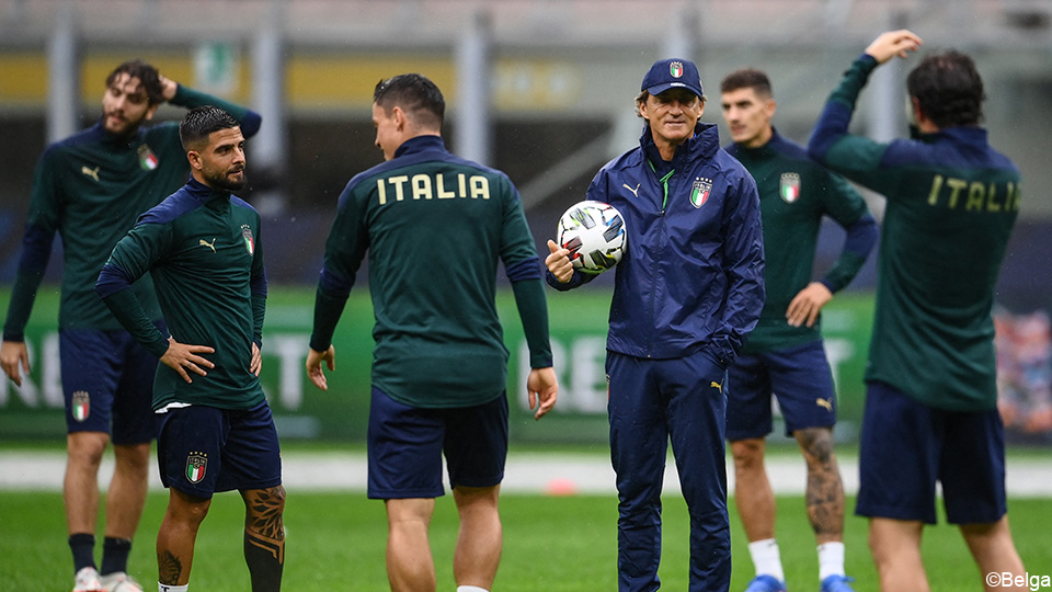 Italy still hungry: 'We don't care what Courtois thinks'    UEFA Nations League
