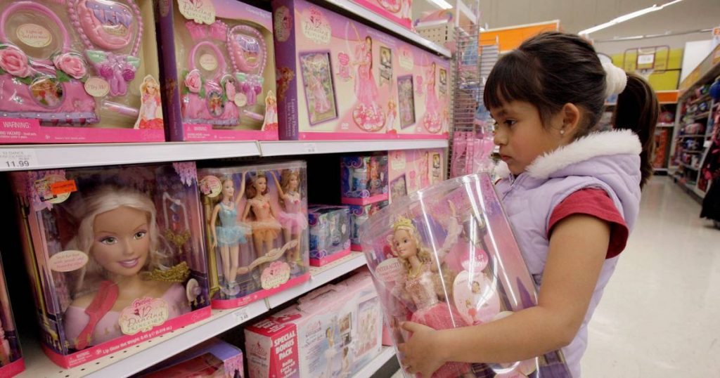 Major stores in California are required to have a gender-neutral department with toys |  Abroad