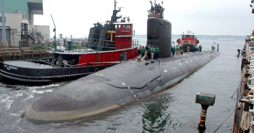 US Navy engineer intends to sell secrets about nuclear submarines    Abroad