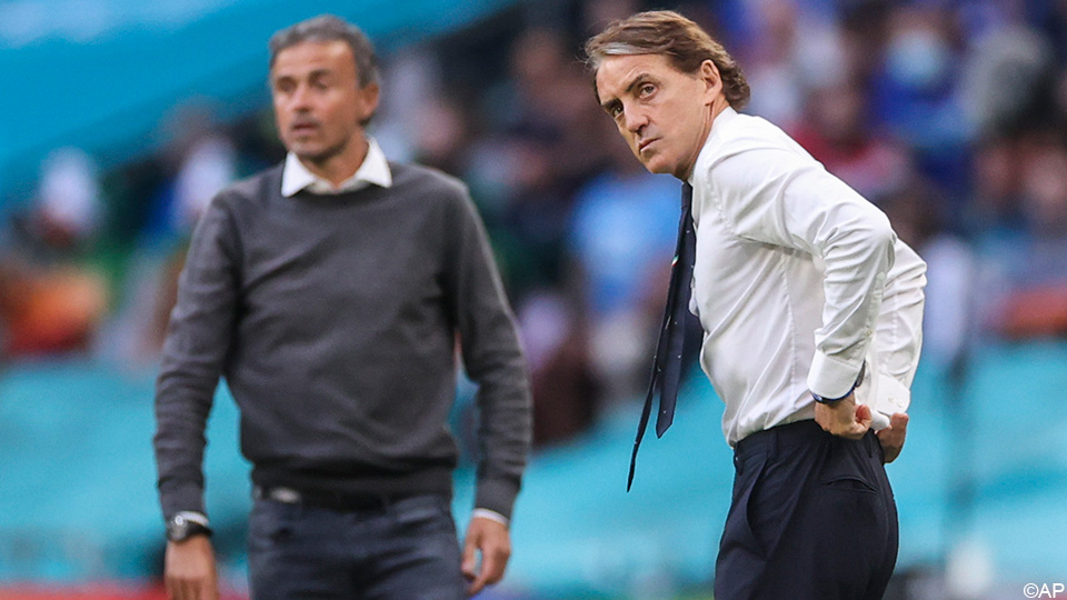 """Will Spain take revenge in the European Championship against Italy in the Nations League?  """"Then we gave up.""""    UEFA Nations League"""